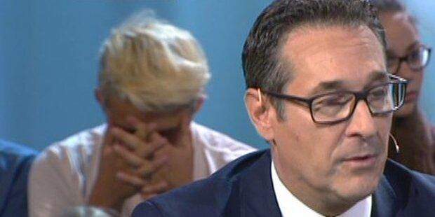 Zuschauer crasht Strache-Interview