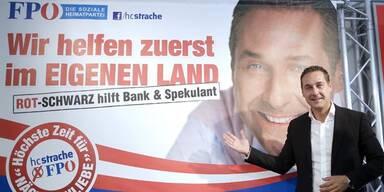 """Strache: """"Hurra, es reimt sich wieder"""""""