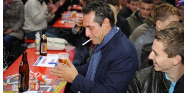 SPÖ und FPÖ rauchen am meisten