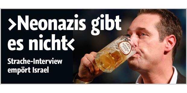 Strache-Interview erregt Israel