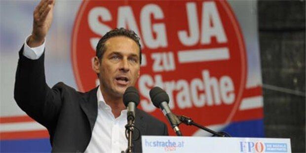 FPÖ legt mit Zwischenwahlkampf los