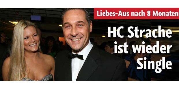 HC Strache ist wieder Single