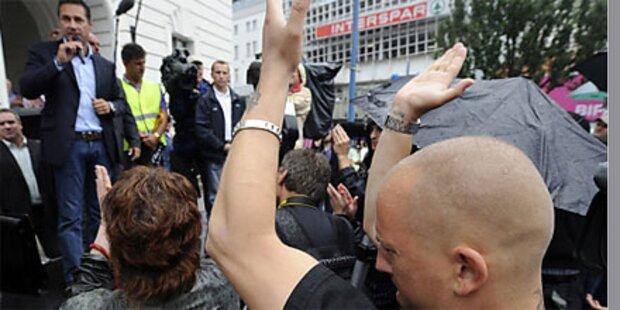 Islam-Demo in Wien mit HC Strache