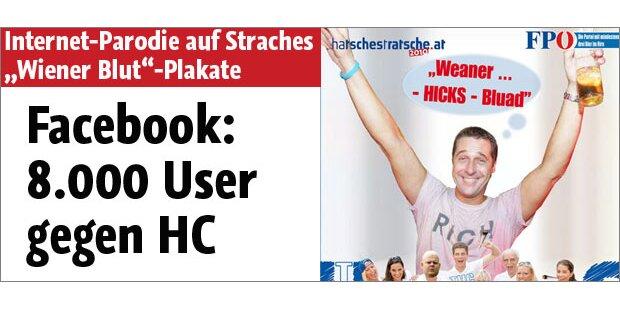 8.000 Facebook-User gegen HC