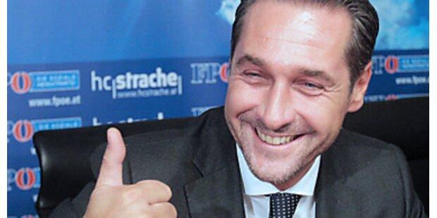 Strache steigt in Hofburg-Wahl ein