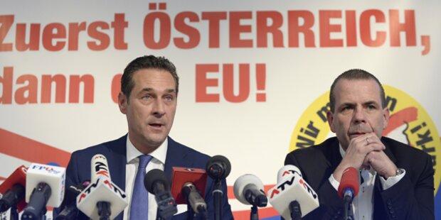 FPÖ präsentiert Partner für Rechtsblock in der EU