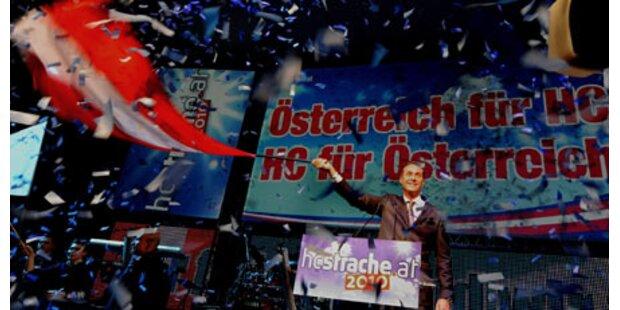 Brachialer FPÖ-Startschuss für Wien-Wahl