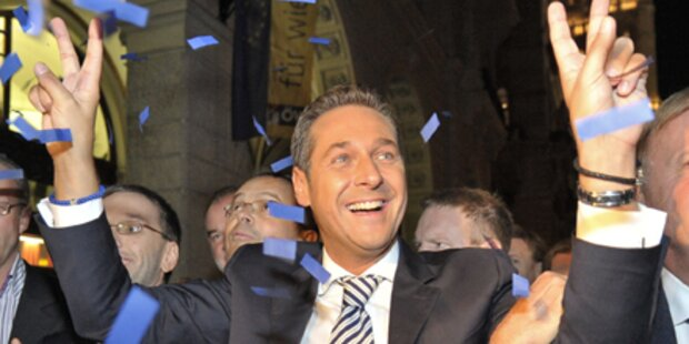 Strache plant schon Ministerliste