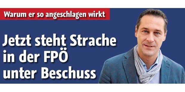 Strache in der FPÖ unter Beschuss