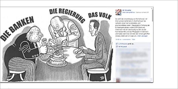 Strache-Cartoon: Keine Ermittlungen mehr