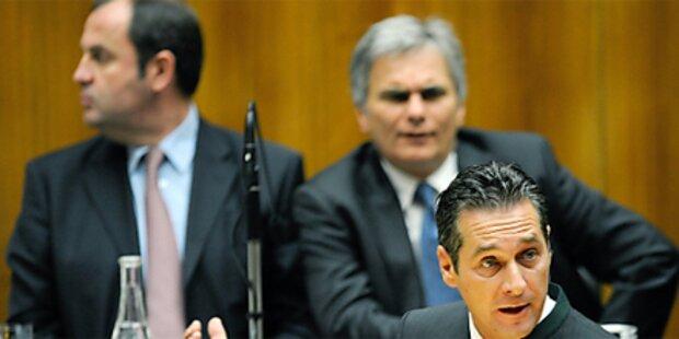 Opposition lehnt Transparenzdatenbank ab