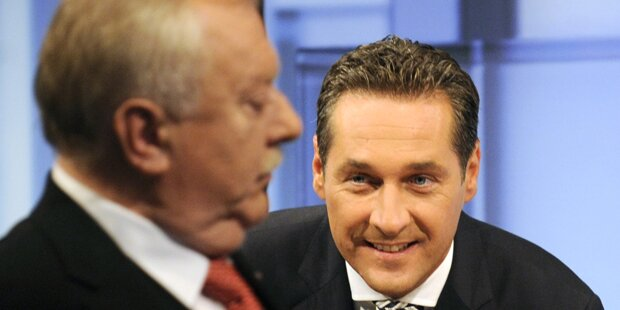 Strache will blau-rote Koalition in Wien