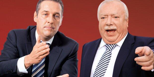 Wien-Wahl: Match zwischen SPÖ und FPÖ