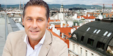 Strache will ins nobelste Penthouse