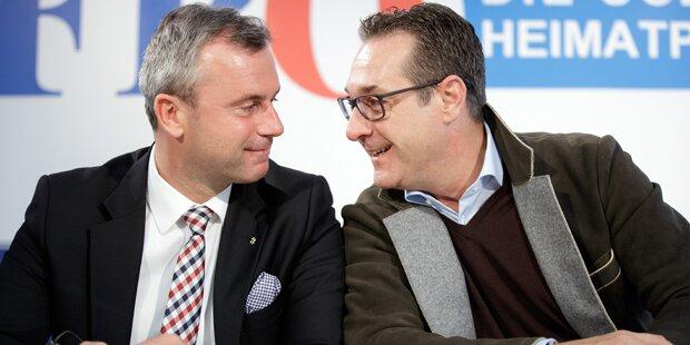 FPÖ mit Rosenkranz an der Spitze