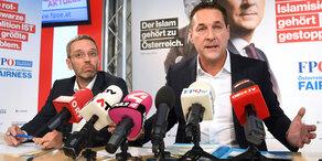 Strache wird Heimatschutzminister