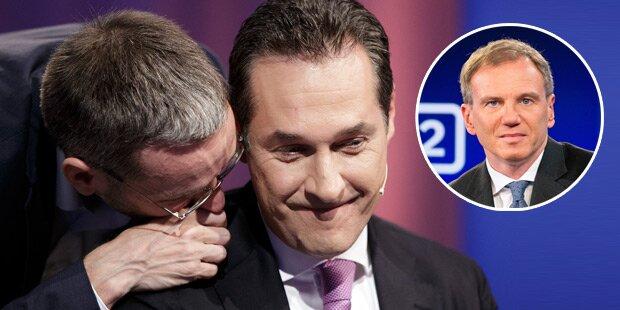 Strache entschuldigt sich bei Wolf & ORF