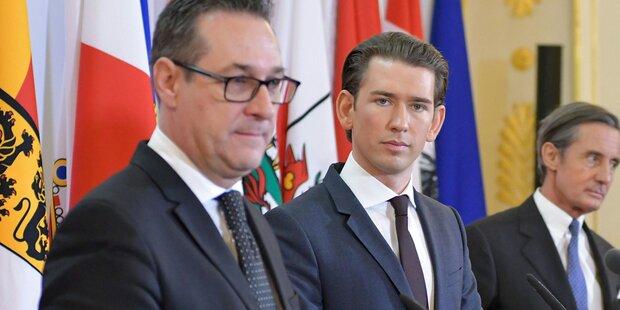 Strache schiebt ÖVP Schwarzen Peter zu