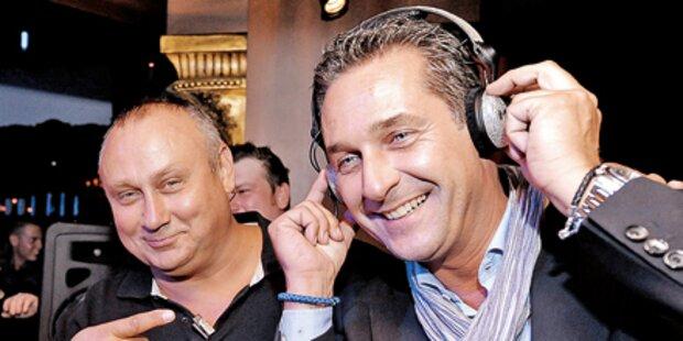 Strache-Wahlkampf-Rap musste vom Netz