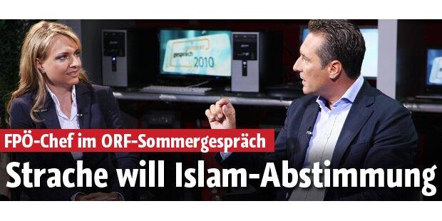Strache will Islam-Abstimmung