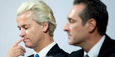 Gert Wilders Strache