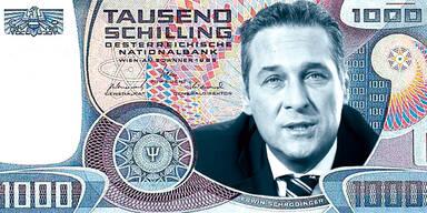 FPÖ will Schilling-Volksabstimmung