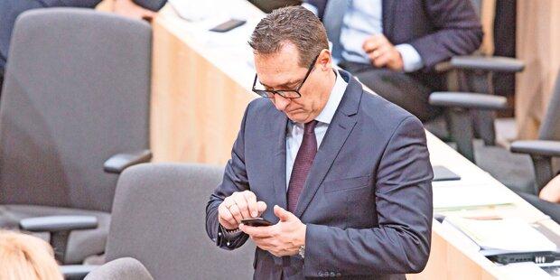 Justiz beschlagnahmt Straches Handy
