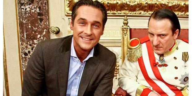 Strache hat Kaiser viermal abgesagt