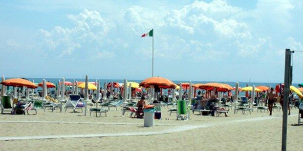 Schlechtes Wetter in Italien: Touristen fehlen