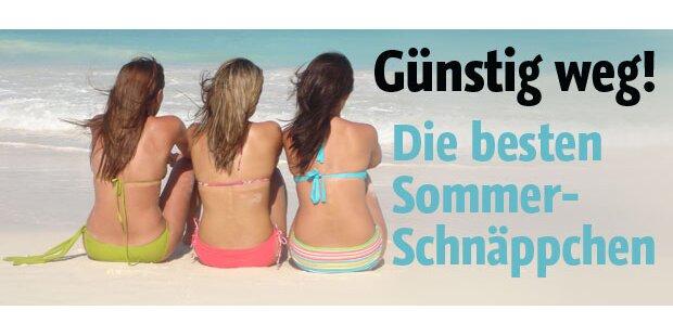 Sommerurlaub: Ab an den Strand!