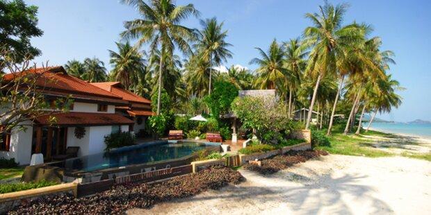 Die schönsten Häuser direkt am Strand
