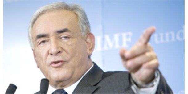 Strauss-Kahn ist ab Donnerstag IWF-Chef