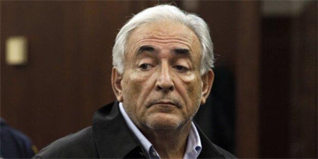 Strauss-Kahn geht gegen Kaution frei