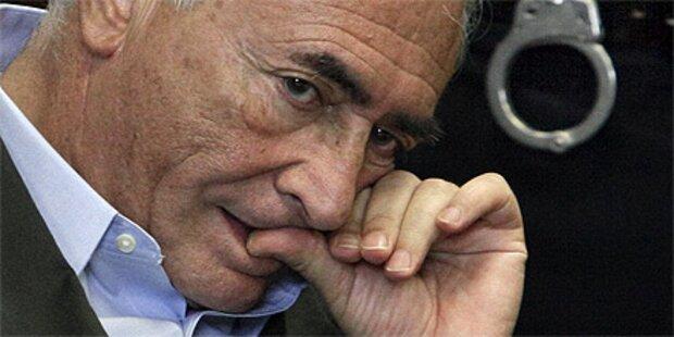 Strauss-Kahn gegen Kaution frei