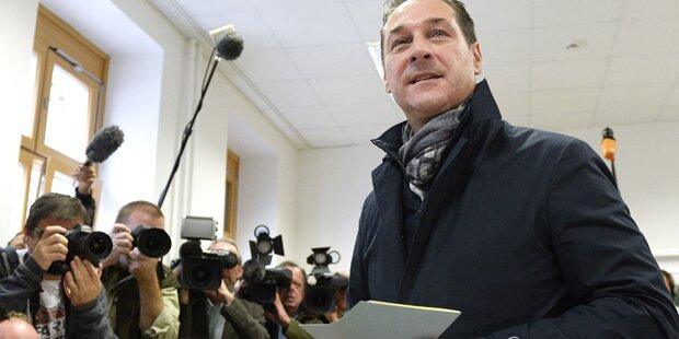 Strache deutet  Wahl-Manipulation an