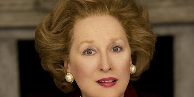 Das ist Meryl Streep als eiserne Thatcher