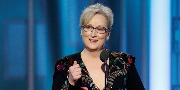 Wilder Schlagabtausch Streep gegen Trump