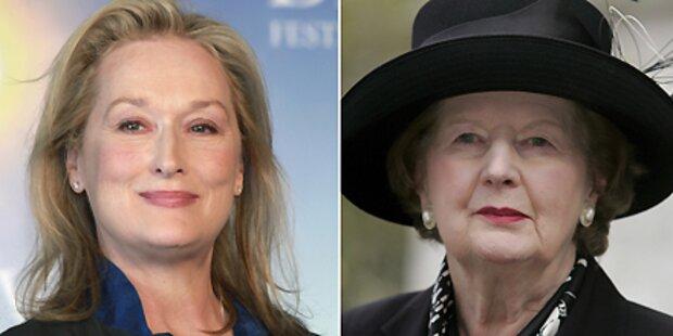 Streep bestätigt Rolle als Eiserne Lady