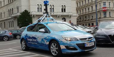 Google-Autos messen Luftverschmutzung