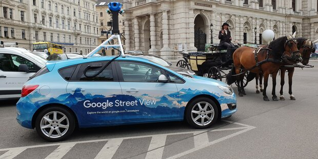 Google Street View ab sofort in Österreich
