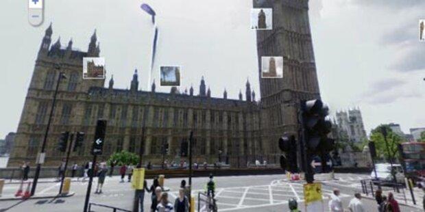 Polizei fahndet mit Street View nach Dieb