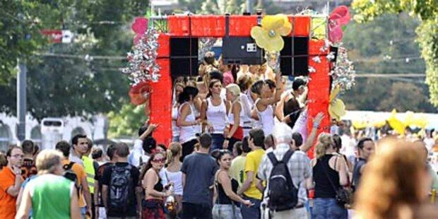 10.000 Besucher auf Wiener Ringstraße