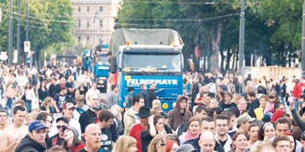 20.000 bei Streetparade erwartet