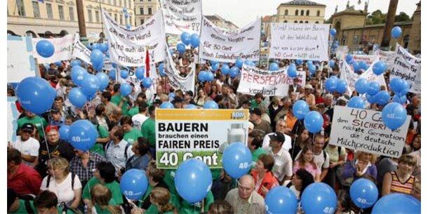 10.000 deutsche Bauern streiken