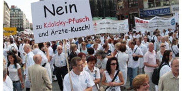 Ärzte streiken fix am 16. Juni