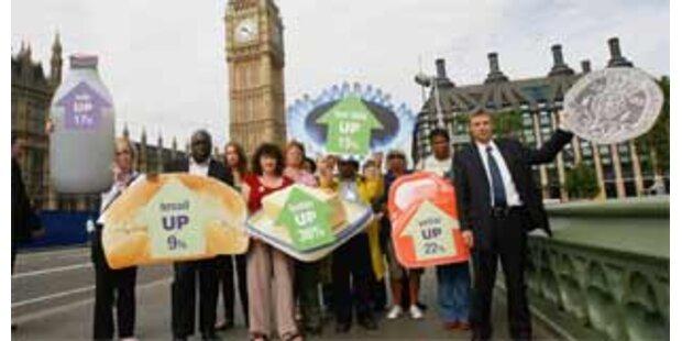 Massen-Streik im öffentlichen Dienst in Großbritannien