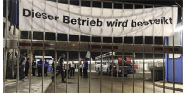 Beamte in 10 bayrischen Städten streiken
