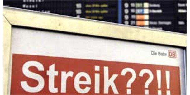 Streik im deutschen Güterverkehr erwartet