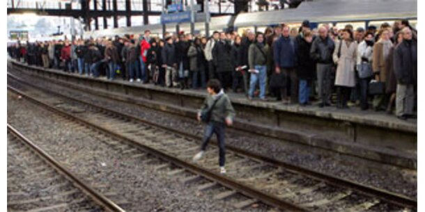 Eisenbahner-Streiks lähmen Europa