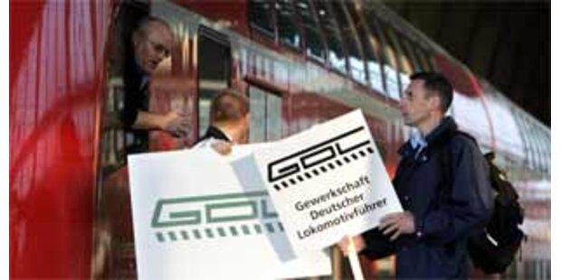 Lokführer-Streiks am Donnerstag und Freitag
